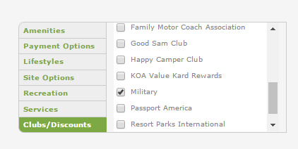Get Military Discounts on RV Parks & Campgrounds - Our